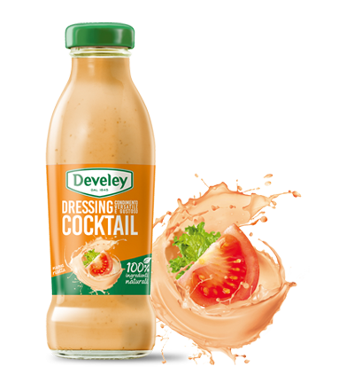 Salsa dressing cocktail Develey