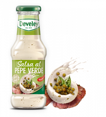 Salsa al pepe verde Develey