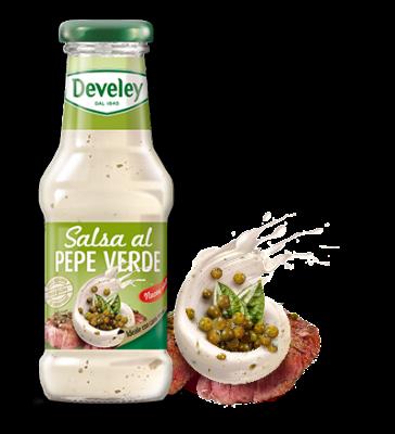 Salsa al pepe verde Develey