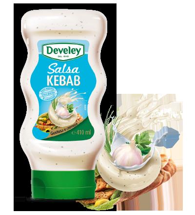 Salsa per kebab, carne e pesce
