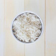raffreddare riso basmati cucinato