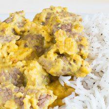 spezzatino agrumi basmati e curry