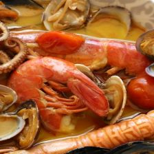 zuppa di pesce al curry