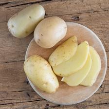 pulire le patate