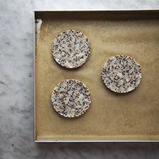burger di quinoa e patate da infornare