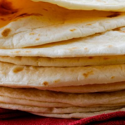Classiche tortillas di mais messicane