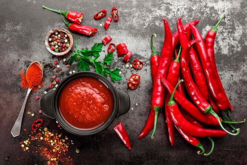 salsa roja messicana per nachos