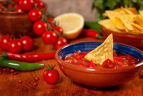 salsa rossa messicana piccante