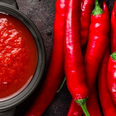 Ingredienti della salsa chili