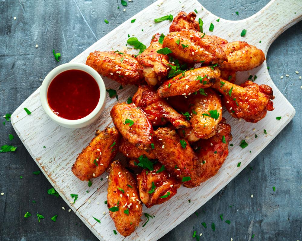 Alette di pollo con Chili piccante