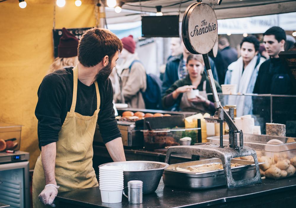 Bancarella da street food