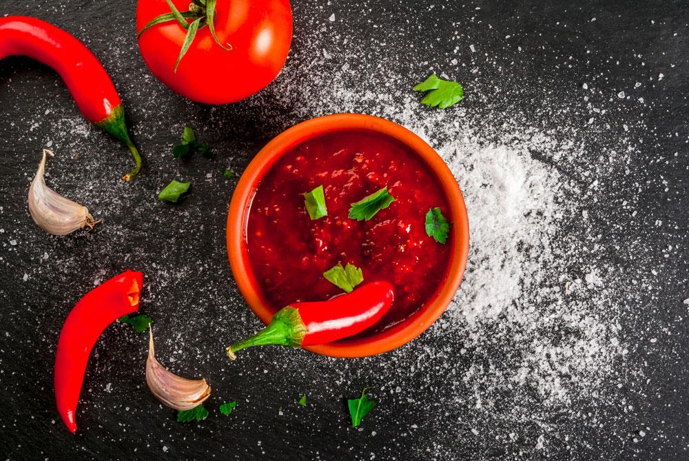 Chili piccante con peperoncino