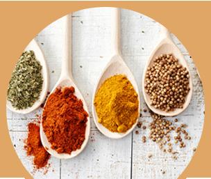 Salse etniche, spezie e condimenti
