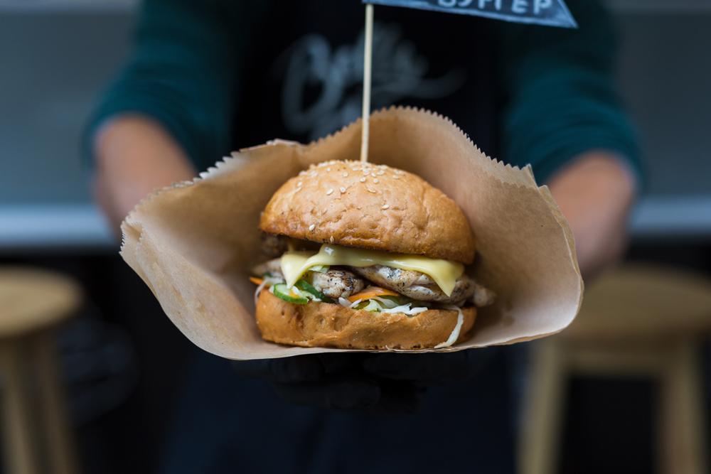 Hamburger, cibo da passeggio