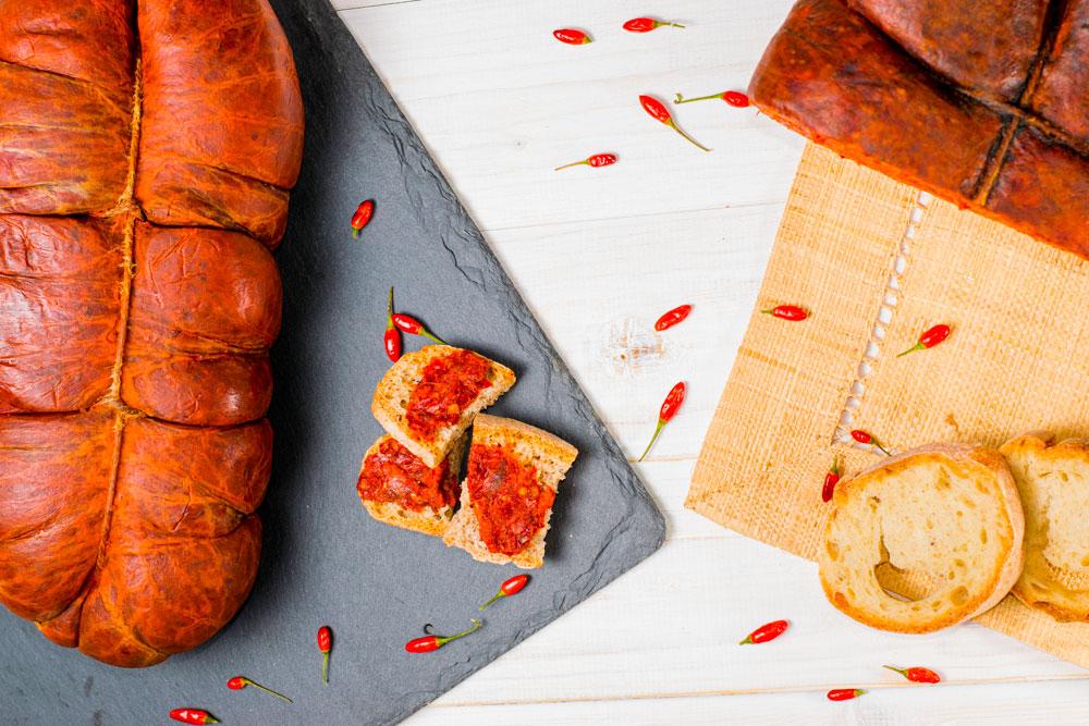 Mini peperoncini con pane e carne