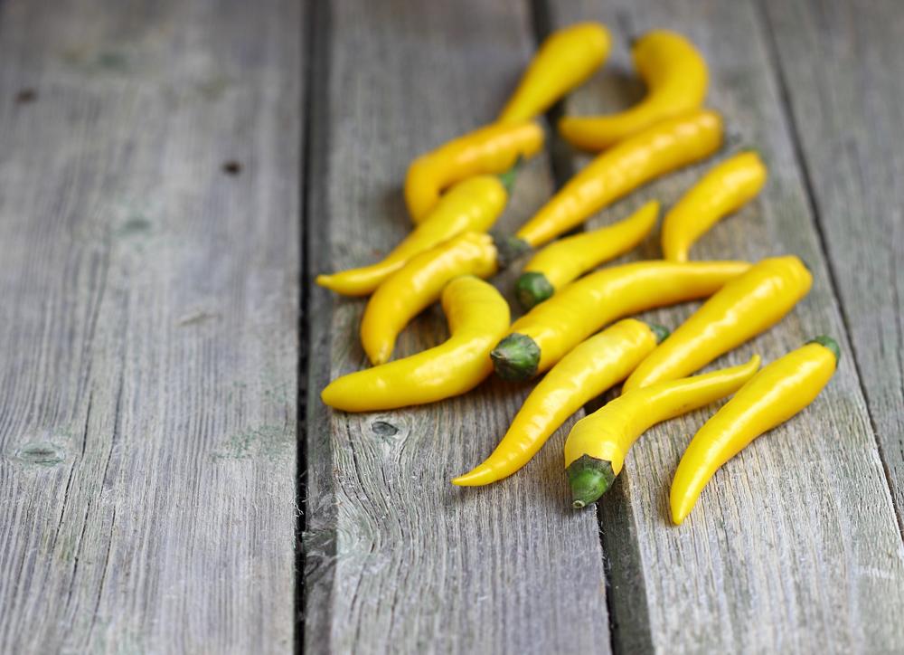 Peperoncini colore giallo