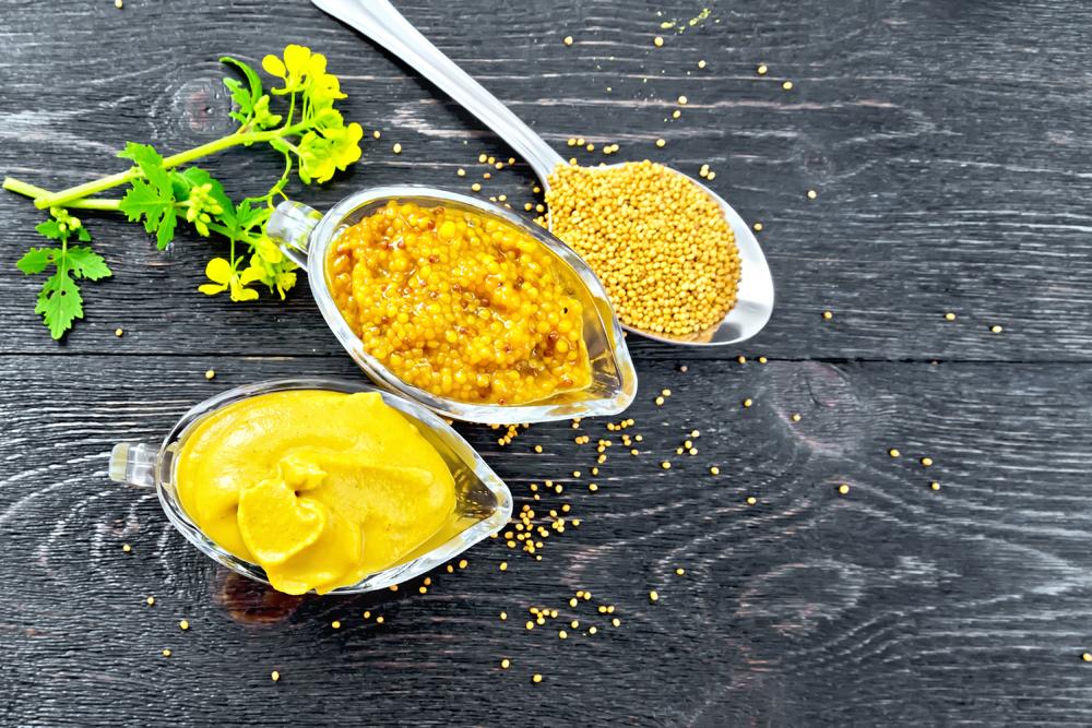 senape Digione e senape dolce