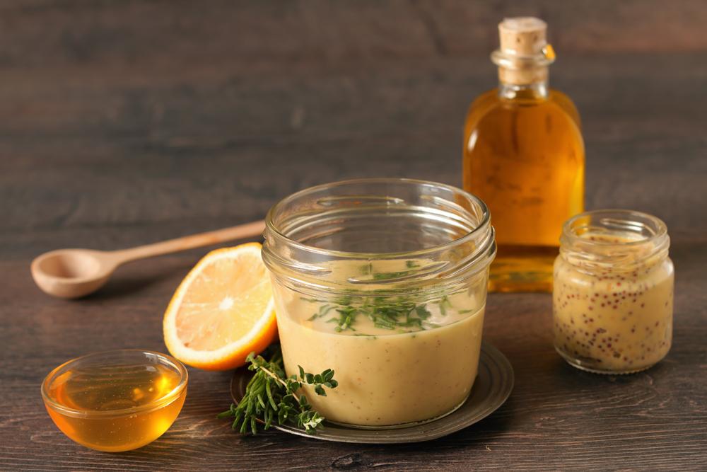 senape con miele e spezie