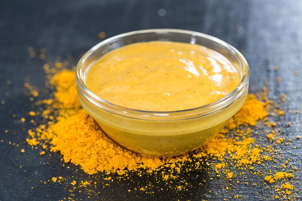 salsa al curry per piatti orientali