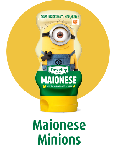 maionese develey minions