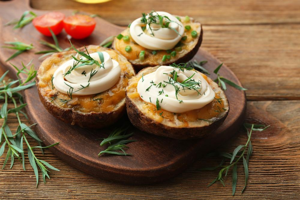 patate con maionese e prezzemolo