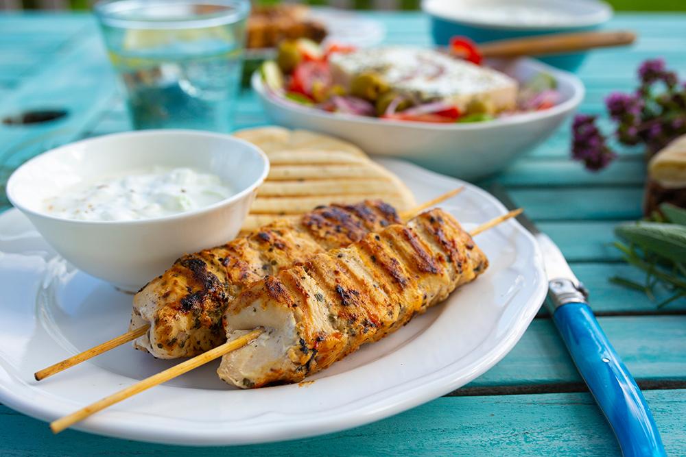 salse e piatti greci