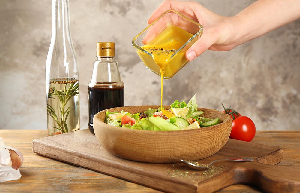 salsa alla senape per insalata