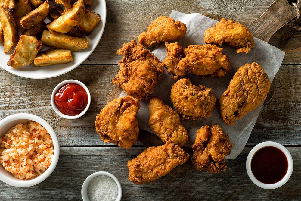 salsa per il pollo fritto