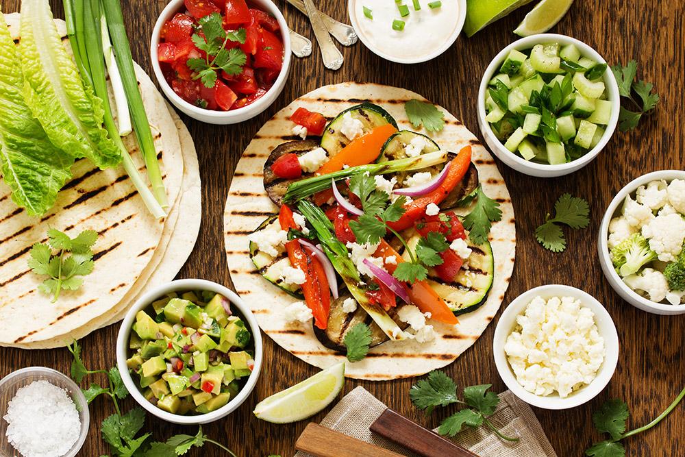 salsa per tacos vegetariani