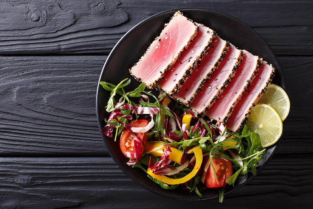 insalata di mare con tonno