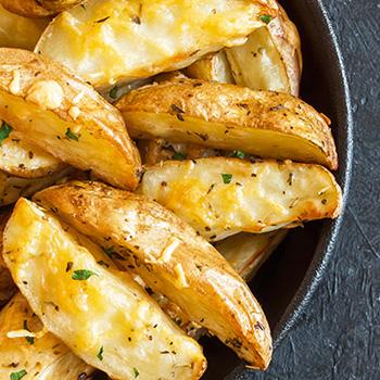 patate dippers tagliate