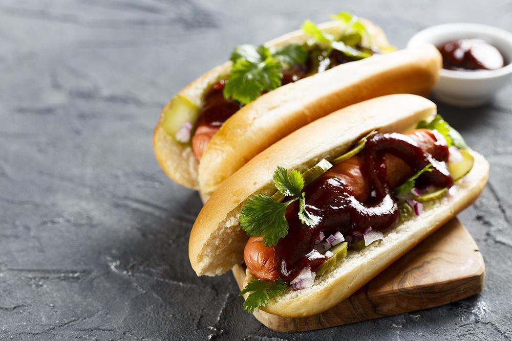 panino con salsa barbecue