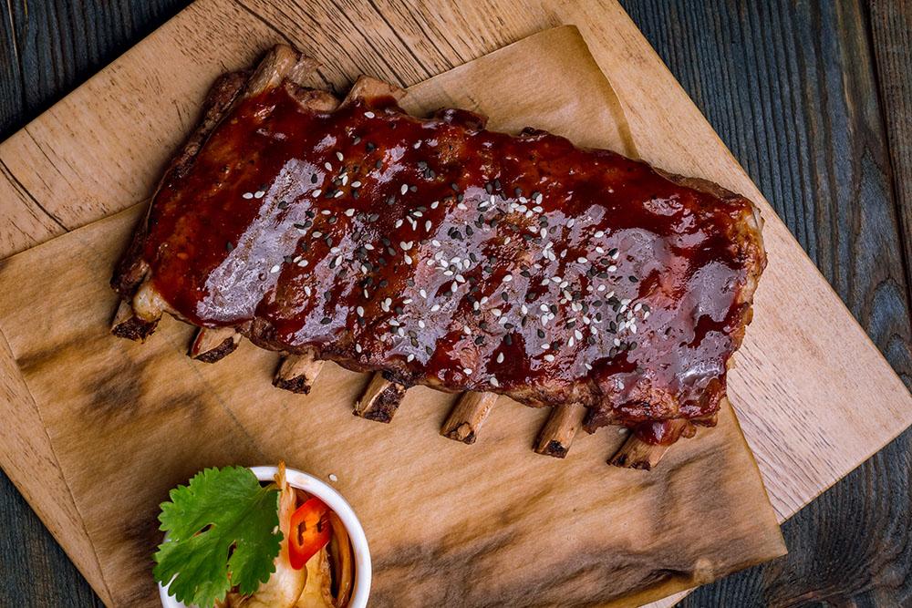 salsa barbecue per costine