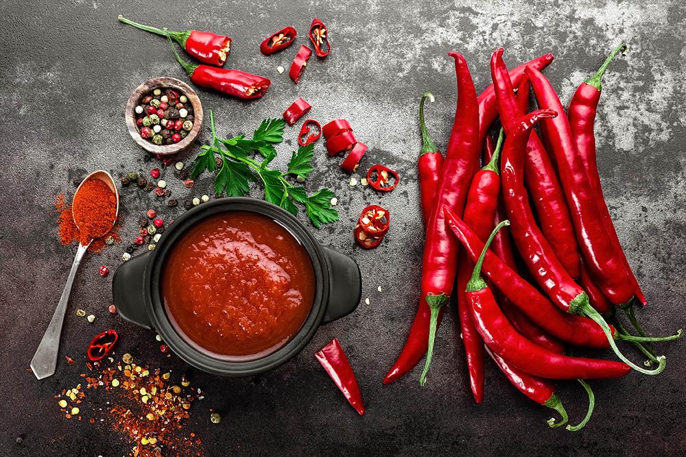 salsa piccante per grigliata